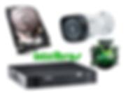 Câmeras de Segurança, CFTV, DVR, HVR