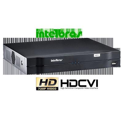 DVR Stand Alone 4 Canais Tríbrido HDCVI 1004