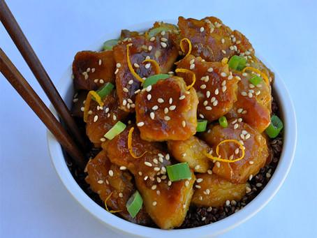 Foodie Fitness Recipe - Orange Chicken