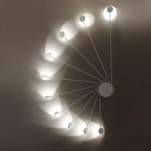 Sieninis/Lubinis šviestuvas HELIX (MODEL 1)