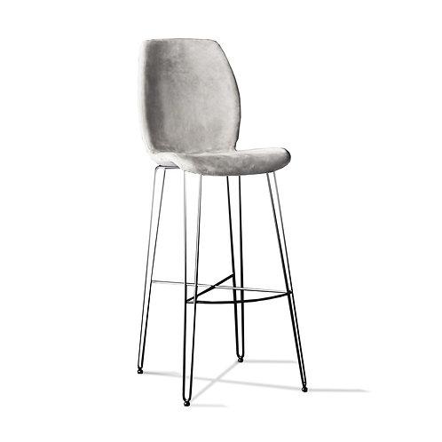 Baro - Pusbario Kėdė Bip Iron.ss - pilka