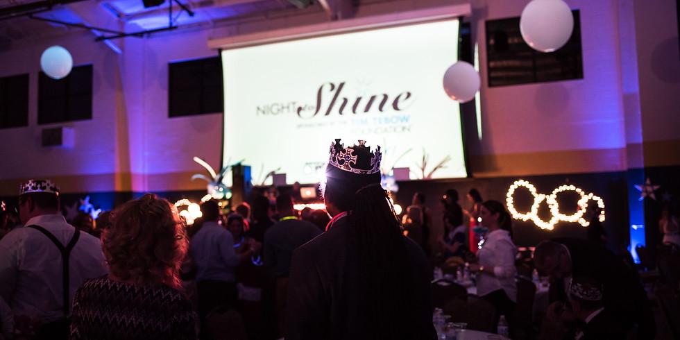 Guest Registration: Shine-Thru and Virtual Night to Shine