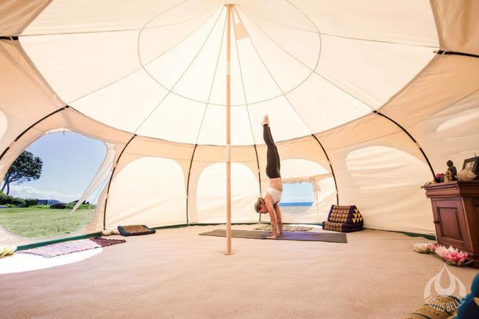 Yoga tent / quiet hideaway
