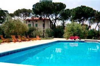 Villa Gioianna grounds