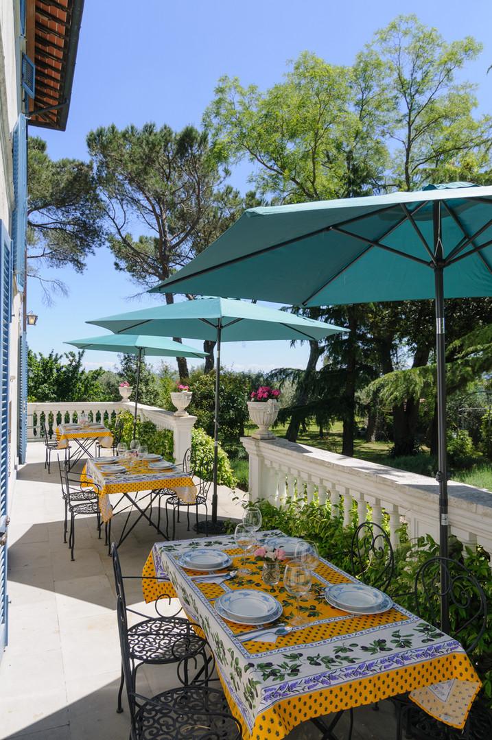 Villa Gioianna's terrazza