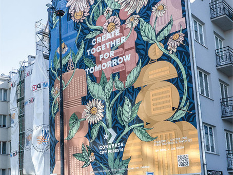 This Mural In Warsaw Is Eating Up Smog, Doing The Work Of 720 Trees