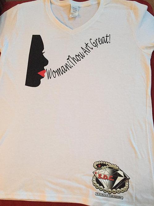 T-Shirt - Woman: Thou Art Great Logo