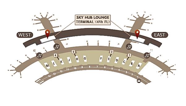 Asiana Incheon Airport terminal