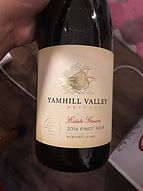 2016 Yamhill Estate Pinot Noir, Willamette Valley, Oregon