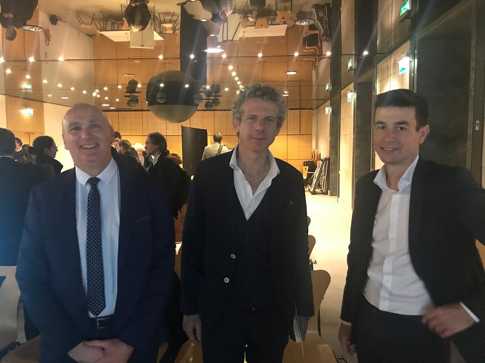 Gilles Babinet, Thierry Weibel, Pierre Musseau