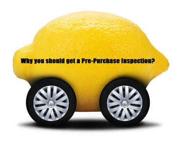 Why you should get a Pre-Purchase inspection.