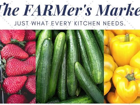 The FARMer's Market Returns Every Tuesday Evening Starting June 1st