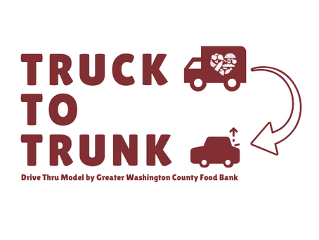 Greater Washington County Food Bank Confirms Locations and Dates for Truck to Trunk Distributions