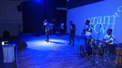 Concert live lancement album