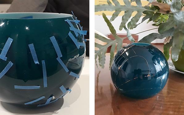 Christmas tip - Kintsugi vase as present