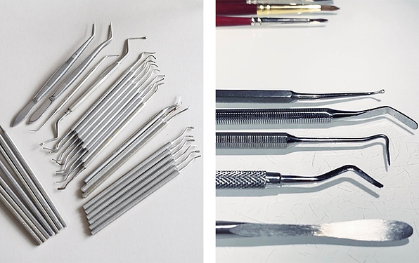 Using second-hand dental tools