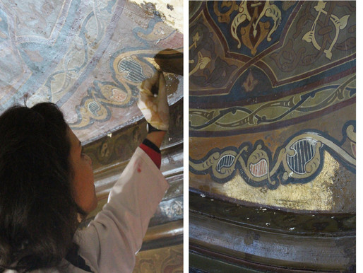 Nanomaterials as Sustainable Challenges and Opportunities in Cultural heritage: Cleaning.