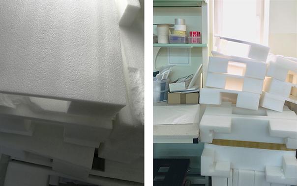 Sourcing polyethylene foam from local companies