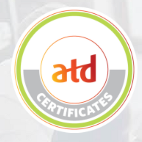 ATD Adobe Captivate Certificate