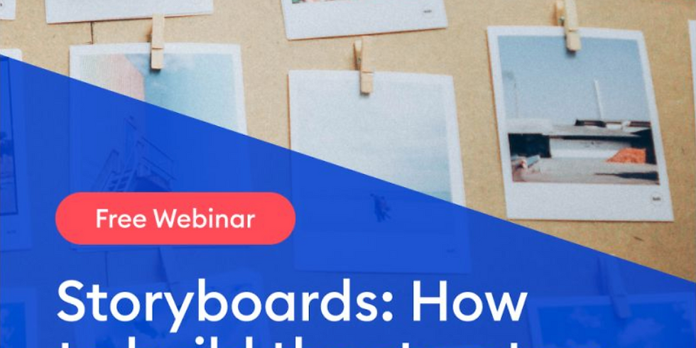Storyboards: How to build the structure for your eLearning