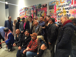 Sur le Mur 2016 Artists' Reception
