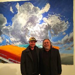 Geoff Melville with John Valadez