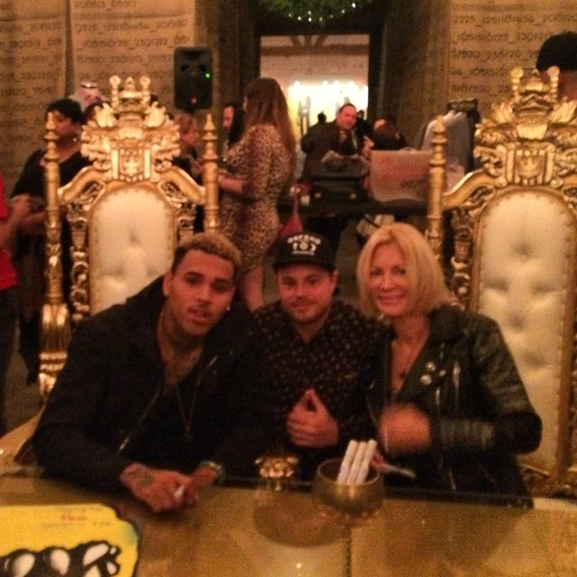 Chris Brown, Geoff, Karen Bystedt