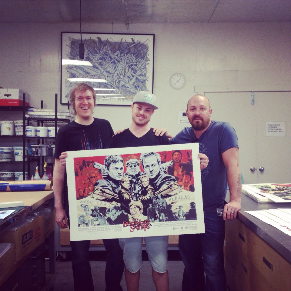 Eben Matthews, Geoff, Troy Duffy