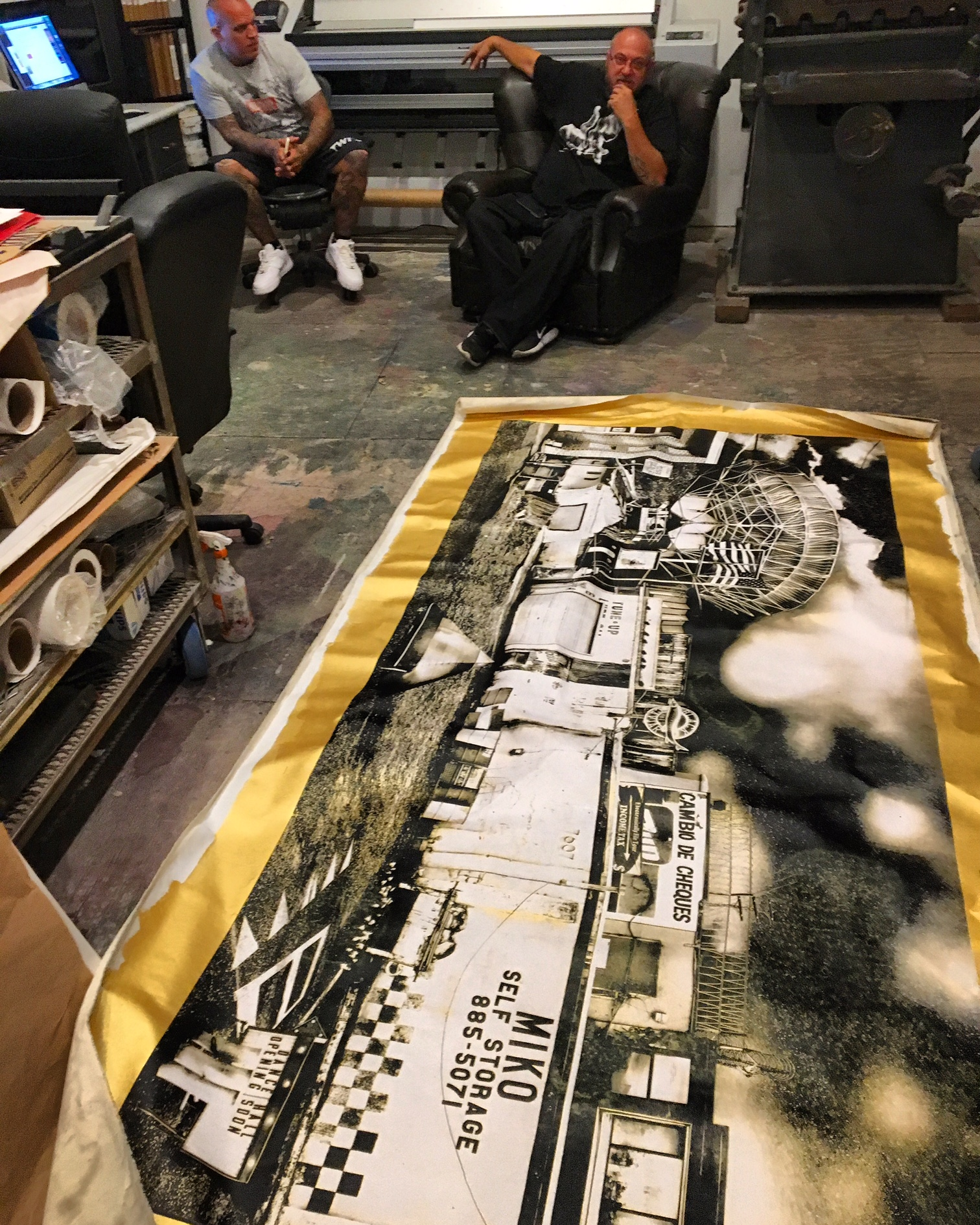 Large Format Silk Screen