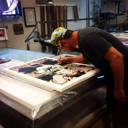 Curating D*Face Serigraphs