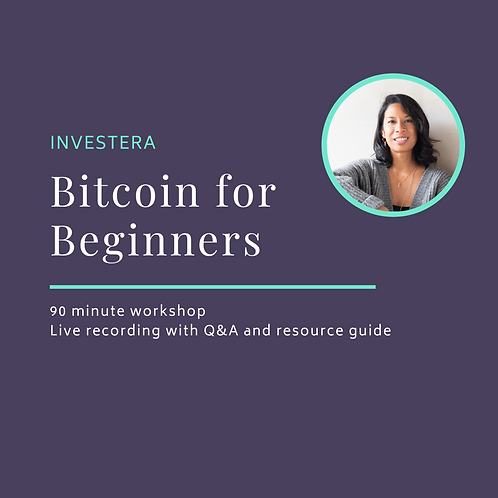 Bitcoin for Beginners Workshop