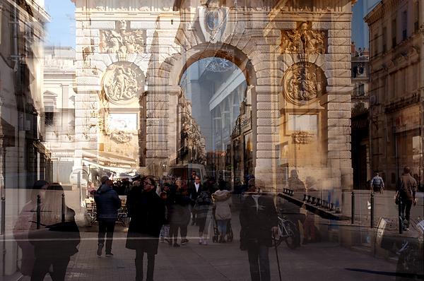 © Catherine GFELLER, Avant le couvre-feu sur Montpellier, 2020