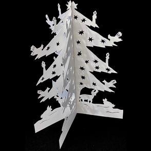Holiday Tree Papercutting