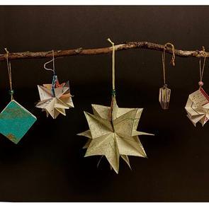 Book Star Ornament