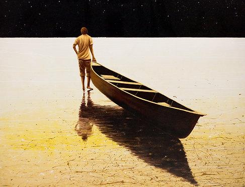 E SOGNO DI ANDARE, Original Painting.