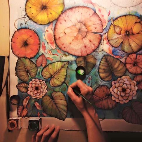 INTERVIEW: Italian illustrator Giulia Caliò