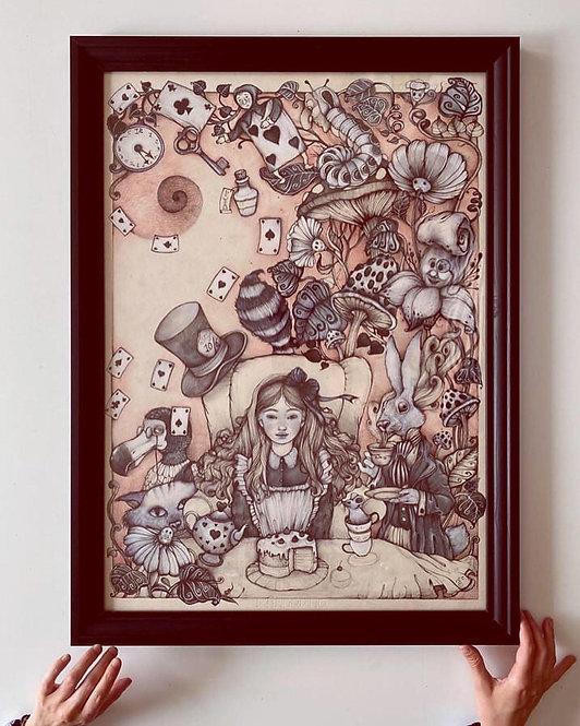 'Alice in Wonderland' Print Edition