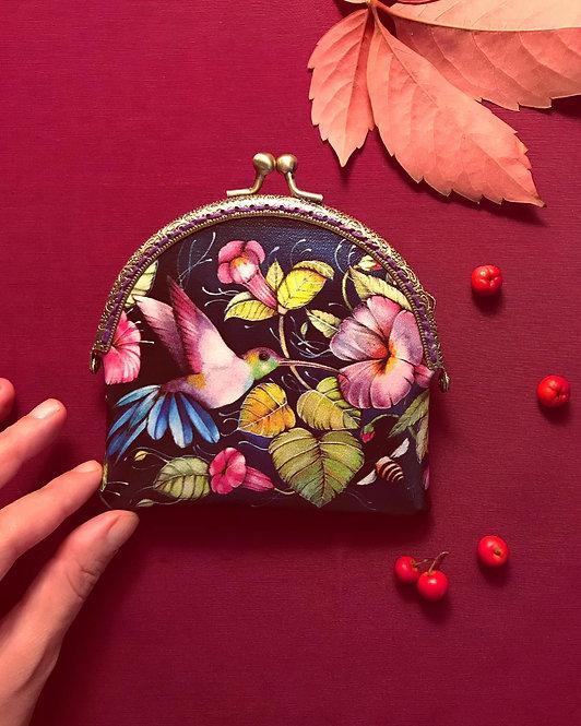 'Hummingbird' Miniature Purse
