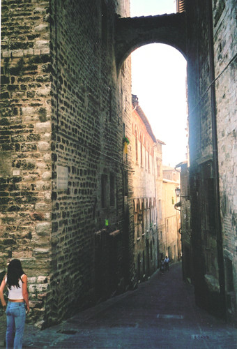 Even as a teenager I loved winding through Italy's towns.