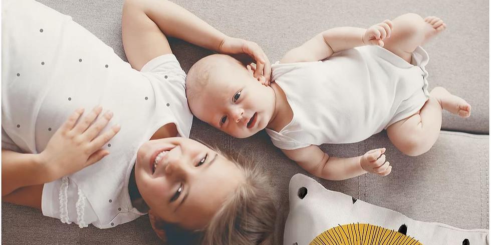 Gesunde, glückliche Babies und Kids