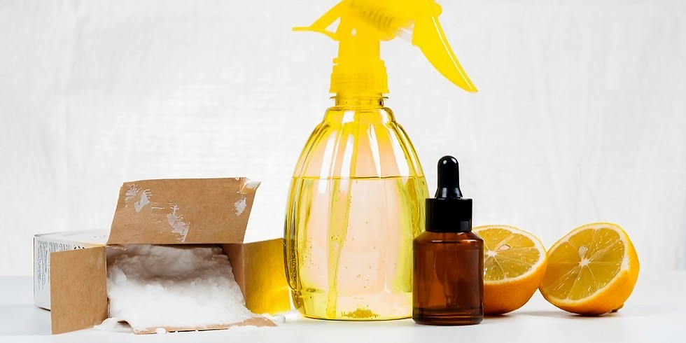 Learn to make your natural cleaning products
