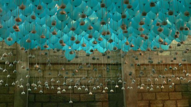 Buffet Flottant, installation participative, 2004