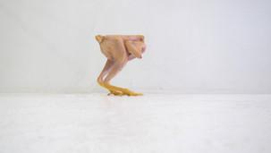 Poulet n°78121, sculpture, 2011