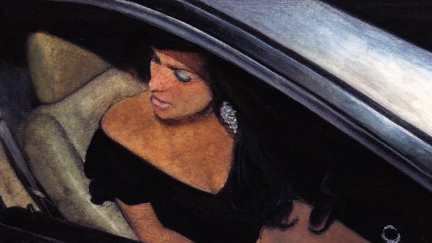 Descente de voiture, aquarelles, 2012