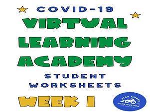 covid 19 worksheets week 1