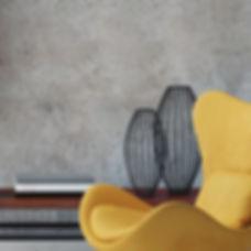 Fauteuil jaune