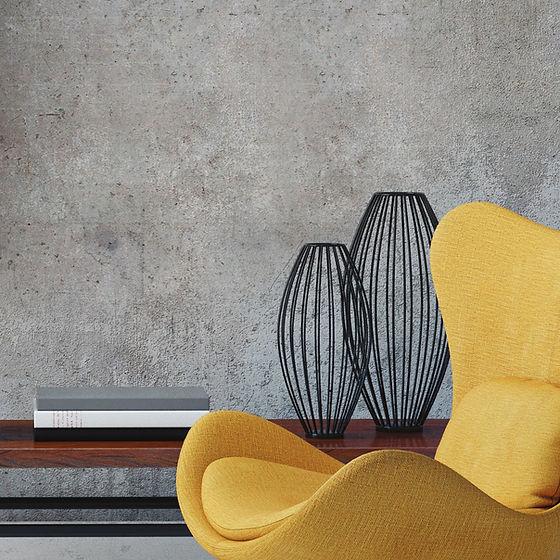 Желтый лаундж-стул