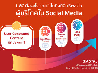 UGC คืออะไร และทำไมถึงมีอิทธิผลต่อผู้บริโภคใน Social Media