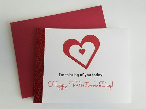 Thoughtful Heart Valentine's Day Card
