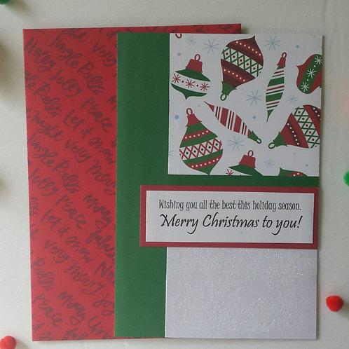 Bell-tastic Christmas Card